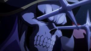 Момонга, настолько крутой, что игнорирует клинки в глазах в аниме Overlord(Владыка)