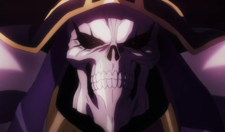 Главный герой аниме Overlord - Момонга