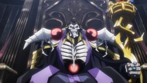 Momonga, глава Игдрассиля - главный герой аниме Overlord(Владыка)