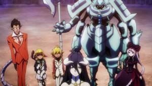 Верные слуги Владыки, готовые присягнуть ему на верность в аниме Overlord