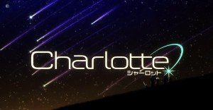 Логотип аниме Charlotte(Шарлотта)