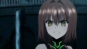 Хотако Мияби из аниме Absolute Duo(Идеальная пара), зомбированная врагами