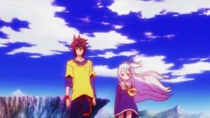 Сора и Широ из аниме No Game No Life