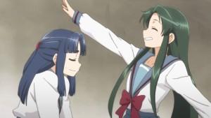 Цуруя и Рёко друг с другом
