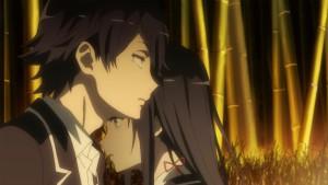 Юкино и Хикигая в аниме Oregairu2