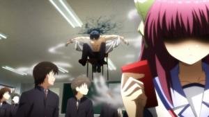 Полет на стуле в Angel Beats