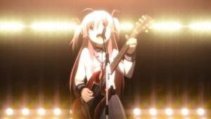Первое выступление Юи