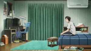 Шиньичи веселится в комнате