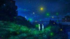 Ночь и светлячки