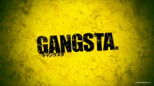 Логотип аниме Gangsta