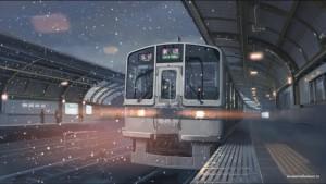 Любимые поезда Макото Синкая