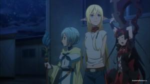 Трио персонажей
