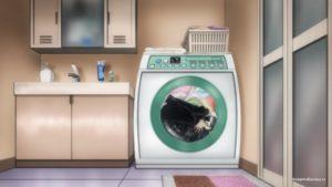 В стиральной машинке