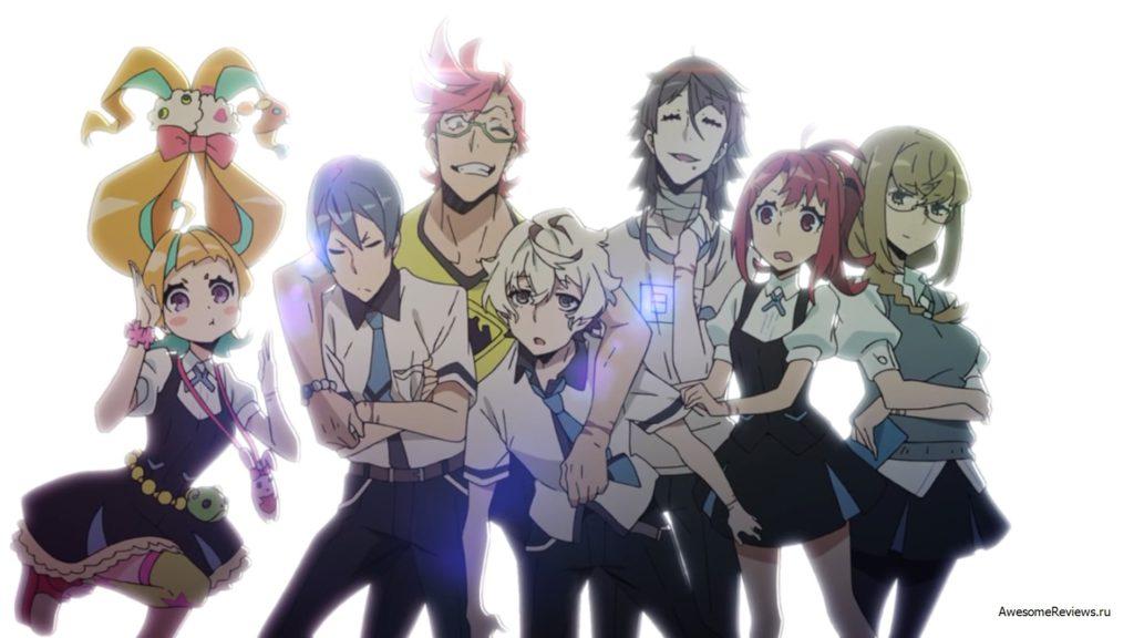 Ники связаны с аниме