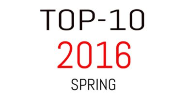 Top-10 2016 Spring