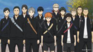 Команда Карасуно (Karasuno team)