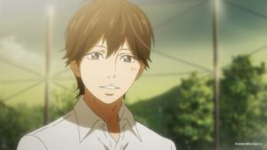 Какеру Нарусэ (Kakeru Naruse) улыбается