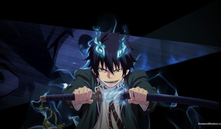 Рин Окумура (Rin Okumura) с мечом