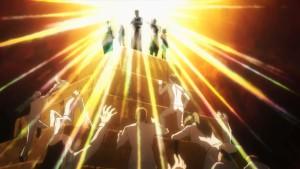 """Десять процентов лучших учеников Тоцуки из аниме Shokugeki no Soma(""""Повар-боец Сома"""", """"В поисках божественного рецепта"""")"""