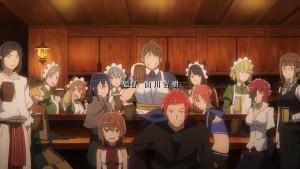 Группа персонажей из аниме Danmachi