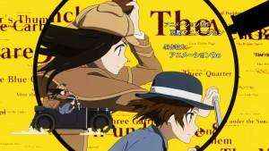 Детективы из аниме Hyouka в погоне в эндинге
