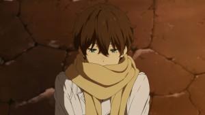 Hotaru Oreki (Хотару Ореки) - главный герой аниме Hyouka