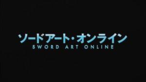 Заголовок аниме Sword Art Online