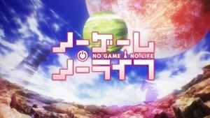 Логотип аниме No Game No Life