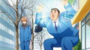 Курлы-курлы в аниме Ore Monogatari