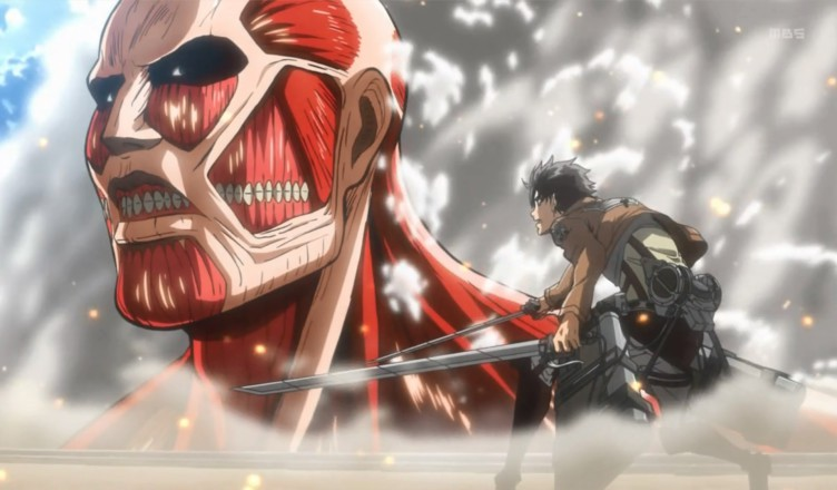 аниме картинки битва титанов
