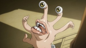 Правик (Migi) из аниме Parasyte