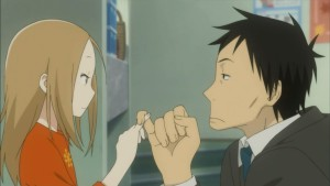 Рин и Дайкичи клянутся на пальцах