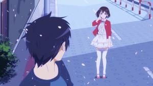 Встреча Мегуми и Томои