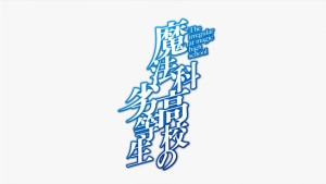 Логотип аниме Mahouka