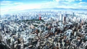 Огромный город Токио