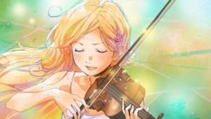 Скрипачка Каори Миазоно