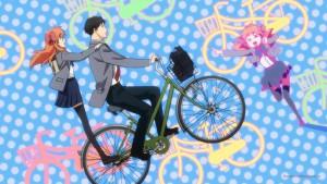 На велосипеде вдвоем