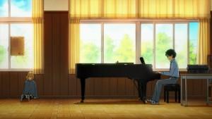 В музыкальном классе