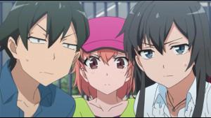 Главные герои Хикигая, Юкино и Юи
