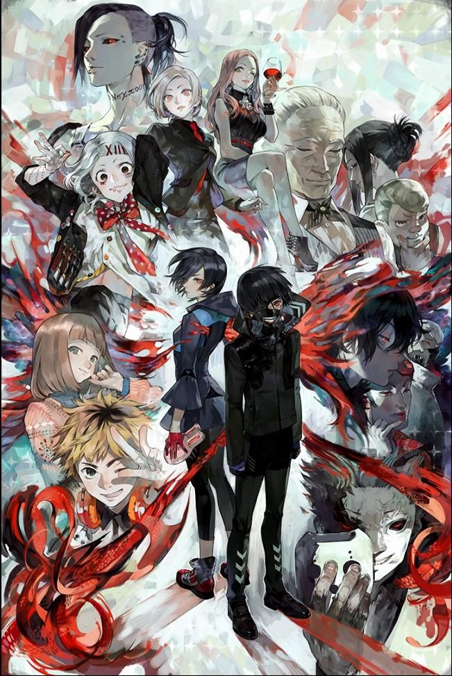Токийский гуль все герои аниме