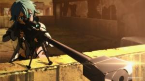Синон с любимой винтовкой