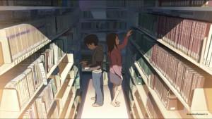 Тихий день в библиотеке
