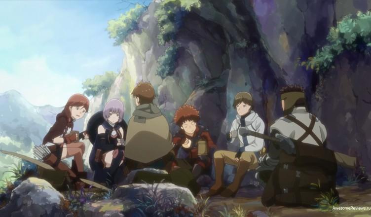 Группа за трапезой