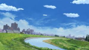 Речной пейзаж
