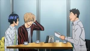 Ашироги Муто с редактором
