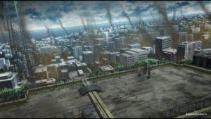 Беспорядки в городе