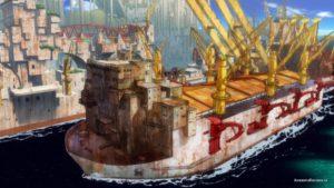 Корабль в доке