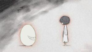 Нарусэ Джун и яйцо