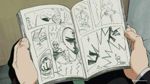 Моб читает One Punch Man