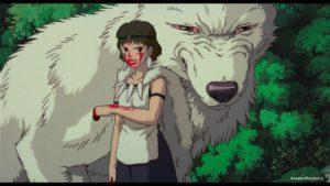 Сан с волчицей